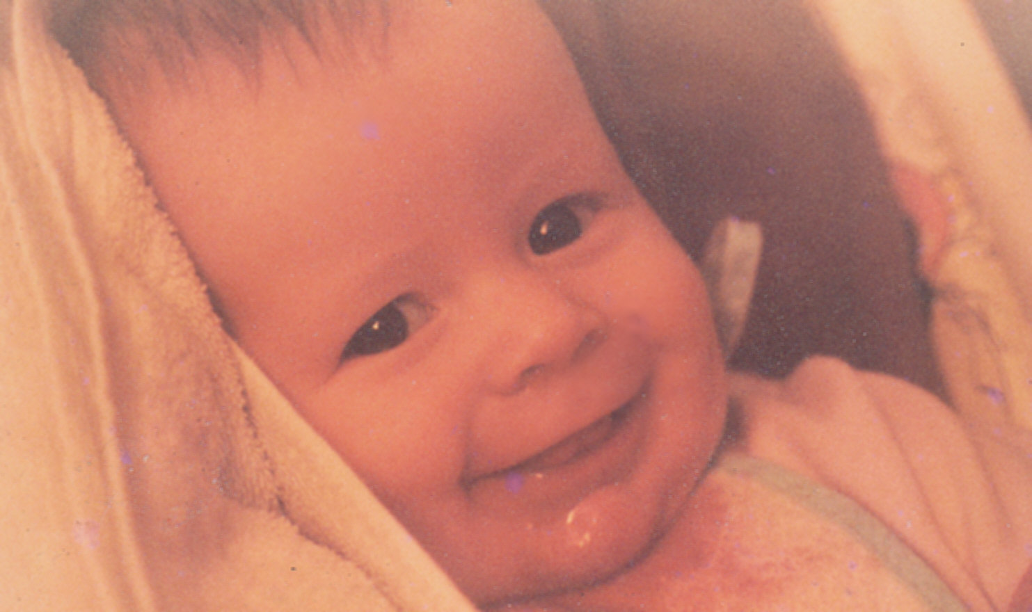 Photo of baby Jamie at four months old</b>